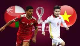 Link xem trực tiếp bóng đá Oman vs Việt Nam (23h00, 12/10) vòng loại World Cup 2022