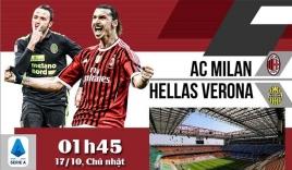 Nhận định AC Milan vs Verona (1h45, 17/10) vòng 8 Serie A: Tiếp diễn phong độ
