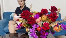 Phan Văn Đức tặng vợ combo hàng hiệu, Quế Ngọc Hải tự hào vì công chúa nhỏ