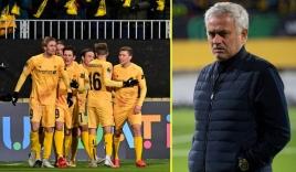 Mourinho đón nhận thất bại nhục nhã nhất trong sự nghiệp cầm quân