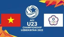 Link xem trực tiếp U23 Việt Nam vs U23 Đài Loan (17h00, 27/10) vòng loại U23 châu Á 2022