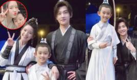 Triệu Lộ Tư nhí nhố cùng Dương Dương và con trẻ, gia đình 'siêu đáng yêu' là đây?
