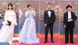 Thảm đỏ Đêm Điện ảnh Weibo: Âu Dương Na Na hoá nàng thơ 'đè bẹp' Nghê Ni