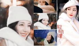 Địch Lệ Nhiệt Ba rạng rỡ tựa thiên thần trong mưa tuyết, netizen vẫn chê 'lên phim già chát chúa'