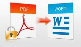 Đổi PDF sang Word dễ dàng và nhanh chóng với No1converter