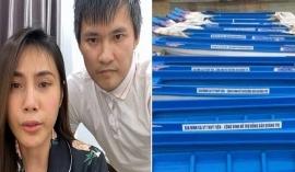 Vợ chồng Thủy Tiên - Công Vinh bị cư dân mạng soi chi tiết phi lý trong quá trình từ thiện