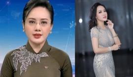 BTV Hoài Anh gây sốt mạng xã hội với khoảnh khắc khi dẫn sóng Thời sự 19h VTV