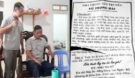 Bắc Giang: Vợ chữa hiếm muộn, chồng cay đắng khi phát hiện 2 con đều của thầy lang