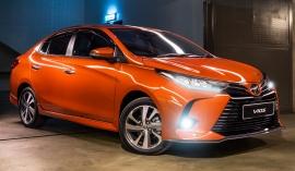 Toyota Vios đời mới nhất đã lộ diện: Tinh chỉnh ngoại thất, bổ sung trang bị