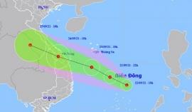 Biển Đông xuất hiện áp thấp, hướng di chuyển nhắm vào miền Trung