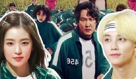 10 idol Kpop có thể phá đảo Squid Game: Jeonghan (SEVENTEEN) giỏi gian lận, Irene (Red Velvet) thông minh, trùm cuối dai như đỉa