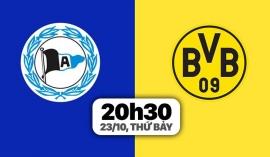 Nhận định Bielefeld vs Dortmund (20h30, 23/10) vòng 9 Bundesliga: Bài toán không Haaland