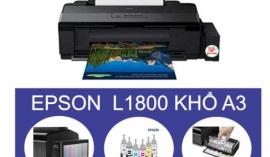 """4 tính năng ĐỈNH giúp máy in Epson L1800 được đông đảo người dùng lựa chọn trong """"mùa Covid"""""""