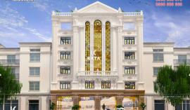 Ấn tượng lối thiết kế khách sạn sang trọng tại Kiến Trúc Achi