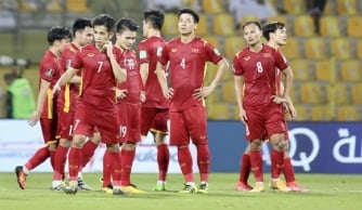 Đội tuyển Việt Nam tụt 3 bậc trên BXH FIFA trước trận gặp tuyển Trung Quốc