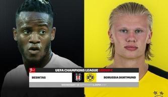 Nhận định Besiktas vs Dortmund, 23h45 ngày 15/09: Vòng bảng UEFA Champions League