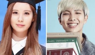 12 idol Kpop sở hữu bảng thành tích học tập siêu khủng