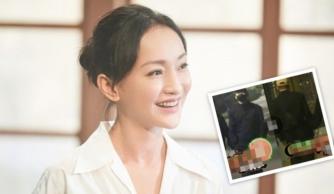 Lộ video Châu Tấn ríu rít theo 'tình mới' vào khách sạn