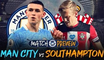 Dự đoán tỉ số, đội hình Man City vs Southampton: 21h00 ngày 18/09