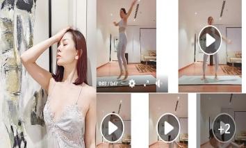 Lệ Quyên tung full clip tại nhà riêng, sắc vóc ngày càng nuột nà