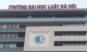 Điểm chuẩn Đại học Luật Hà Nội năm 2021