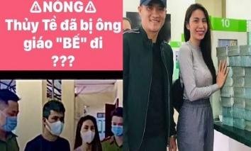 Thông tin mới nhất về tin đồn vợ chồng Thủy Tiên - Công Vinh bị 'bế' lên đồn công an