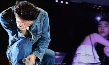 Sơn Tùng 'đứng hình' khi bị 'tập kích' bất ngờ trên sân khấu