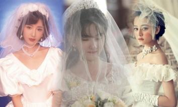 Cảnh Điềm, Địch Lệ Nhiệt Ba và dàn mỹ nhân Cbiz đọ sắc tạo hình cô dâu thời 'ông bà anh': Trùm cuối khiến đàn em 'ngả mũ'