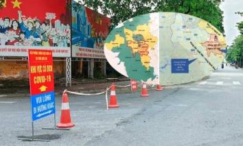 Hà Nội: 10 quận huyện tiếp tục giãn cách xã hội sau ngày 6/9 đến 6h ngày  21/9