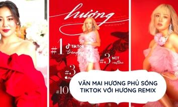 Văn Mai Hương phủ sóng Tiktok với siêu phẩm mừng sinh nhật sau ồn ào bản quyền