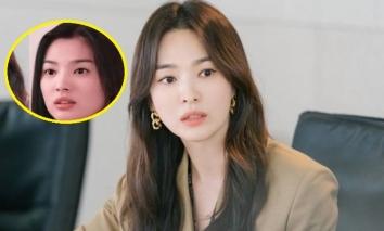 Nhan sắc bất bại của Song Hye Kyo gây ngỡ ngàng khi so kè với ảnh cũ 2 thập niên về trước