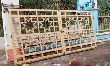 Quảng Nam: Cổng trường mầm non bị sập khiến 2 trẻ thương vong