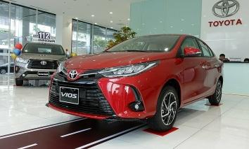Toyota Vios giảm giá chỉ còn hơn 450 triệu, món hời không thể bỏ qua