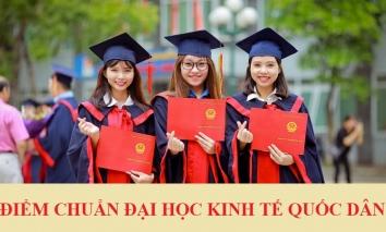 Điểm chuẩn Trường Đại học Kinh tế Quốc dân năm 2021