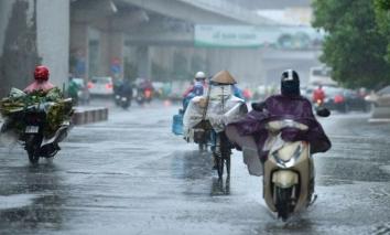 Dự báo thời tiết 11/10: Mưa to trên cả nước, gió mùa đông bắc cấp 2-3