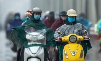 Không khí lạnh tăng cường gây mưa lớn cho Trung Bộ, Bắc Bộ trở lạnh