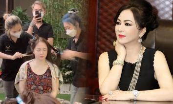 Dân mạng tranh cãi nhan sắc của bà Phương Hằng khi chưa họa mặt, một chi tiết gây chú ý