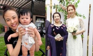 Đàm Thu Trang thừa nhận phải dè chừng thân phận trước mẹ Cường Đôla hậu sinh ái nữ Suchin