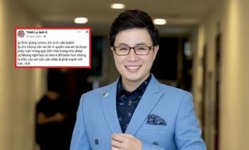 MC VTV Lê Anh có động thái sau pha hành xử thiếu nhân văn với sinh viên khiến dân tình bức xúc