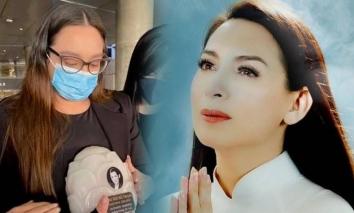 Trước thềm tang lễ Phi Nhung, Wendy Phạm đưa ra thông báo bất ngờ khiến bao người rơi lệ