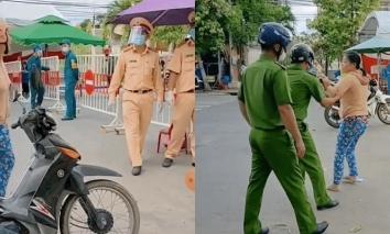Diễn biến bất ngờ vụ người phụ nữ không đeo khẩu trang còn 'thách đố' cán bộ chốt kiểm dịch