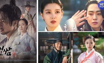 BXH top 5 phim cổ trang Hàn Quốc đỉnh nhất 2021: Sông Đón Trăng Lên trượt top 1?