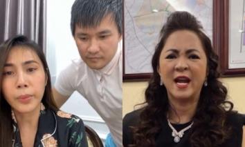 Clip bà Phương Hằng 'hỏi thăm' Công Vinh - Thủy Tiên ngay khi hoàn tất sao kê 177 tỉ đồng