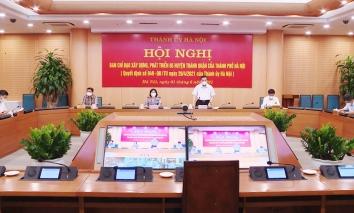 Hà Nội: Xem xét tháo gỡ khó khăn cho đầu tư, xây dựng 5 huyện thành quận