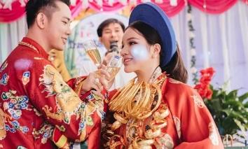 Cô dâu đeo vàng trĩu cổ, số tiền hồi môn được bạn thân tiết lộ khiến CĐM 'xỉu up xỉu down'