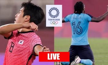 Trực tiếp U23 Hàn Quốc vs U23 Honduras, cập nhật link xem trực tiếp U23 Hàn Quốc vs U23 Honduras, 15h30 ngày 28/07