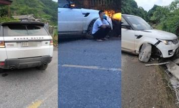 Giang hồ mạng' Huấn Hoa Hồng lái Range Rover gặp sự cố, nguồn gốc của chiếc xe khiến dân mạng tranh cãi