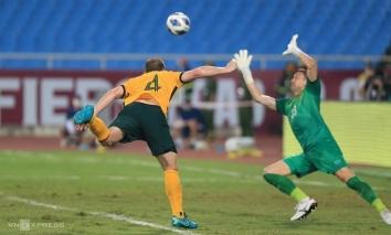 Việt Nam lỡ chiến thắng trước Úc tại sân Mỹ Đình