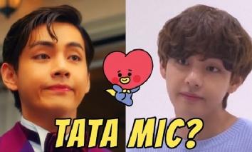 Những lần V(BTS) làm mặt 'TATA Mic' khiến ARMY cười rần