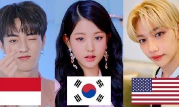 10 nhóm nhạc Kpop Gen 4 chia nhau phủ sóng thế giới: TXT, Stray Kids, IZ * ONE, TREASURE kèn cựa khốc liệt